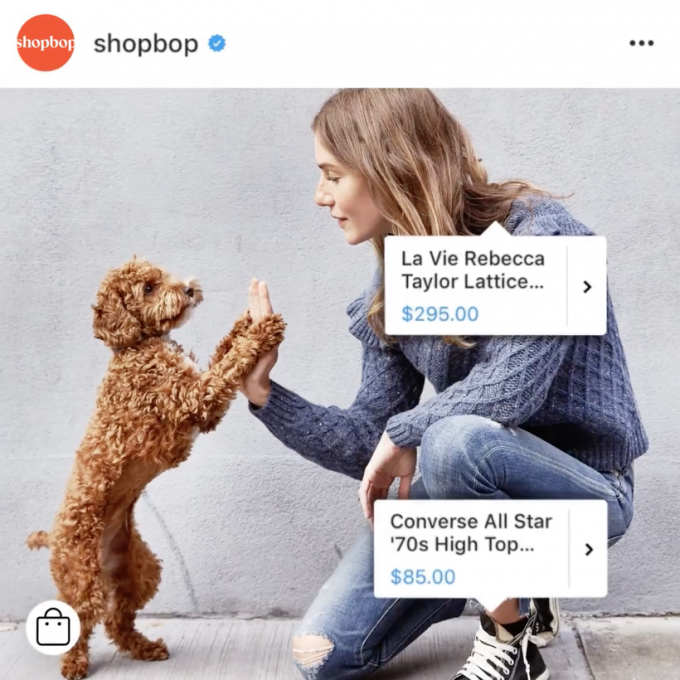 Tag your products on your Instagram page