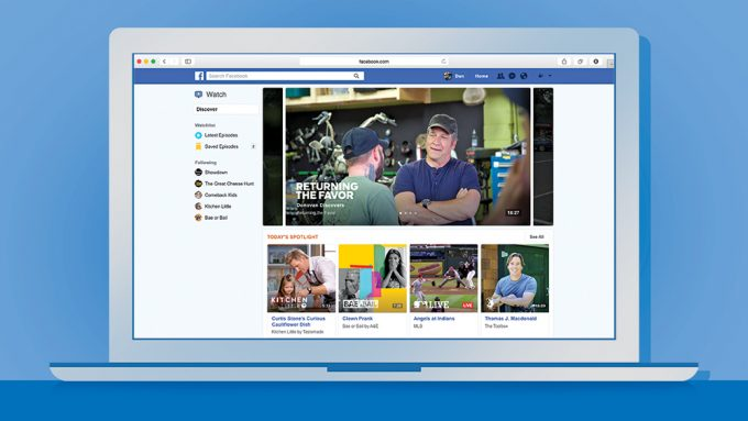 Facebook's Watch platform for videos and shows will now offer Showcase