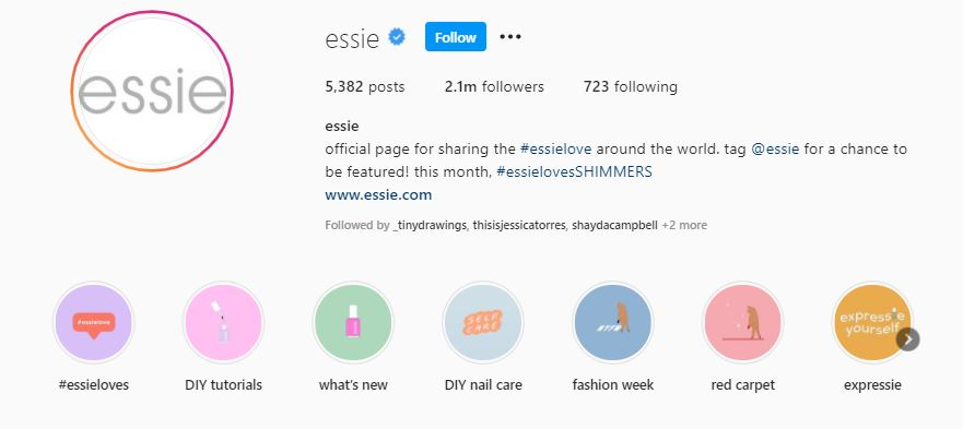 Essie Instagram Highlights
