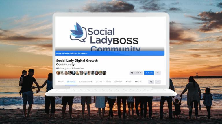 Social lady boss community